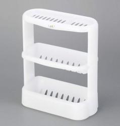 Giá để đồ dùng nhà tắm 3 tầng màu trắng