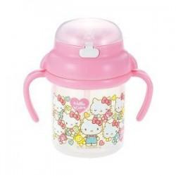 Bình nước vòi hút Hello Kitty