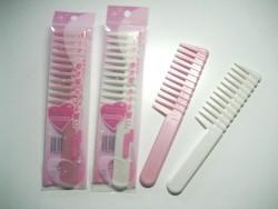 Lược chải tóc bỏ túi silicon (răng thưa)