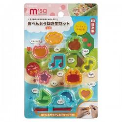 Set 10 khuôn tạo hình đồ ăn M'sa