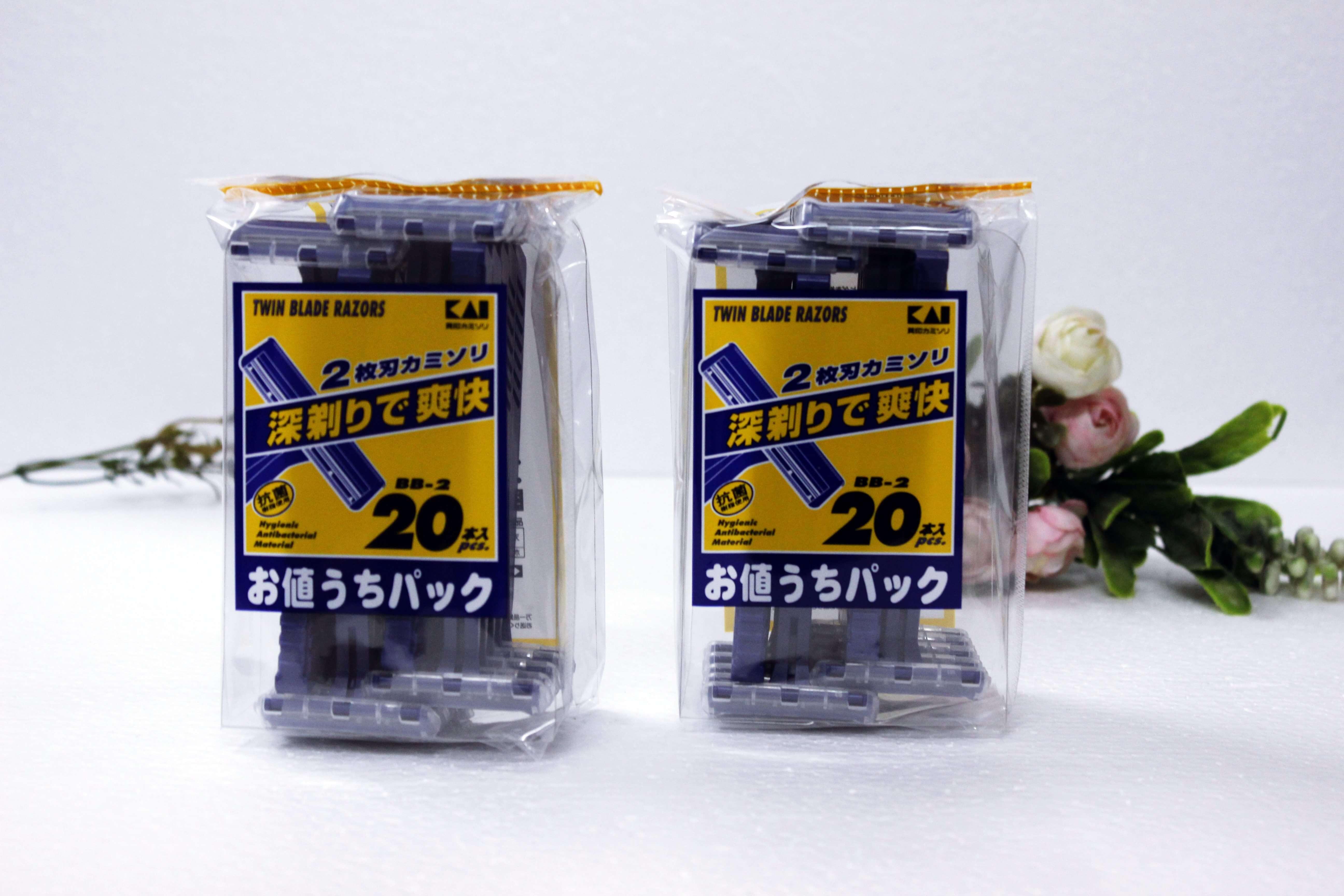 Set 20 dao cạo râu KAI Nhật Bản