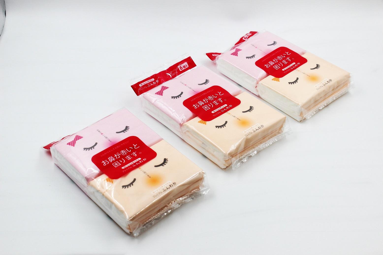 Set 6 khăn giấy bỏ túi siêu mềm mịn
