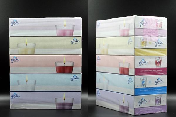 Set 5 hộp Giấy ăn Pricia 200 tờ họa tiết hoạt hình
