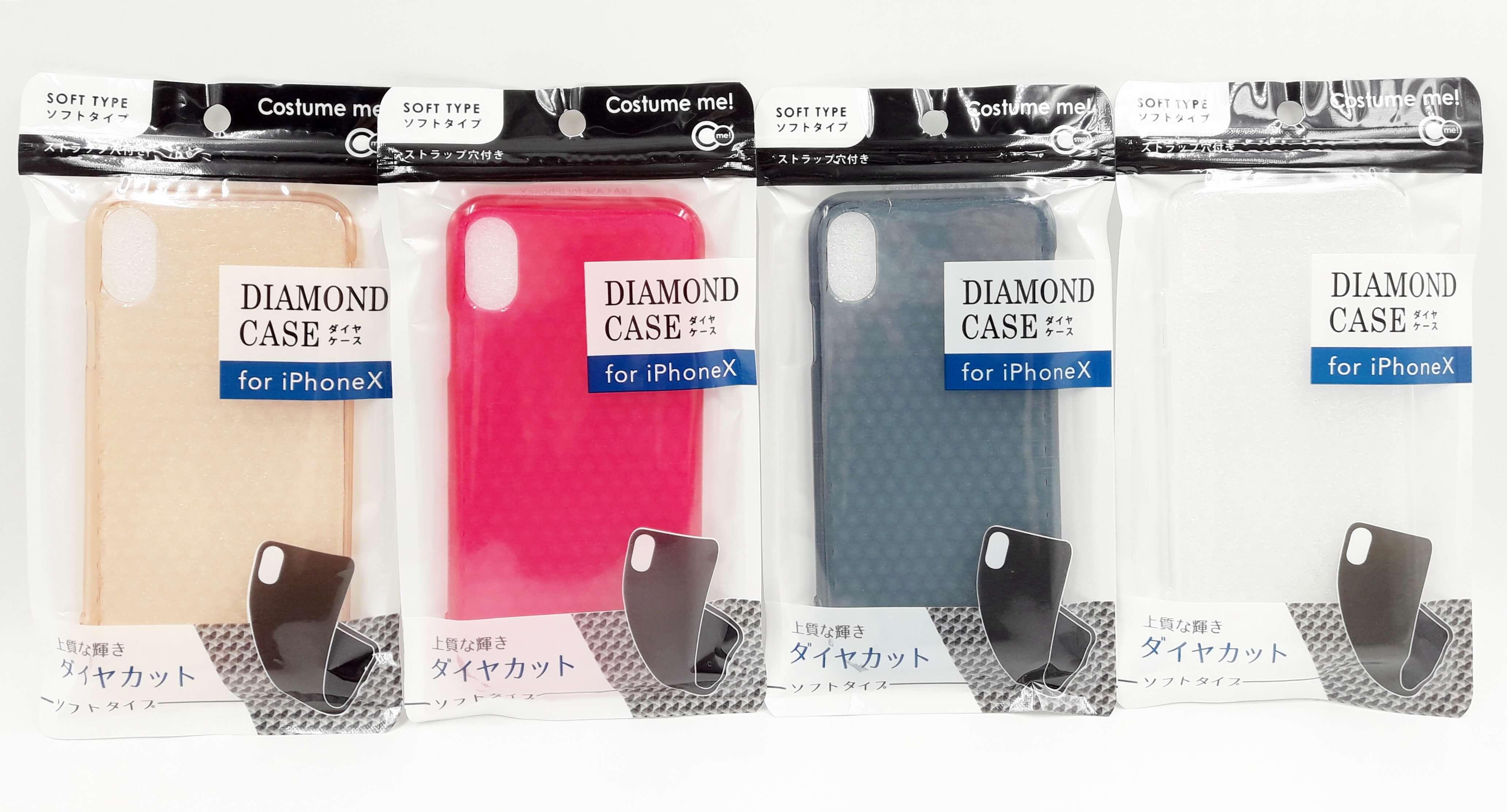Ốp lưng iPhone X họa tiết kim cương