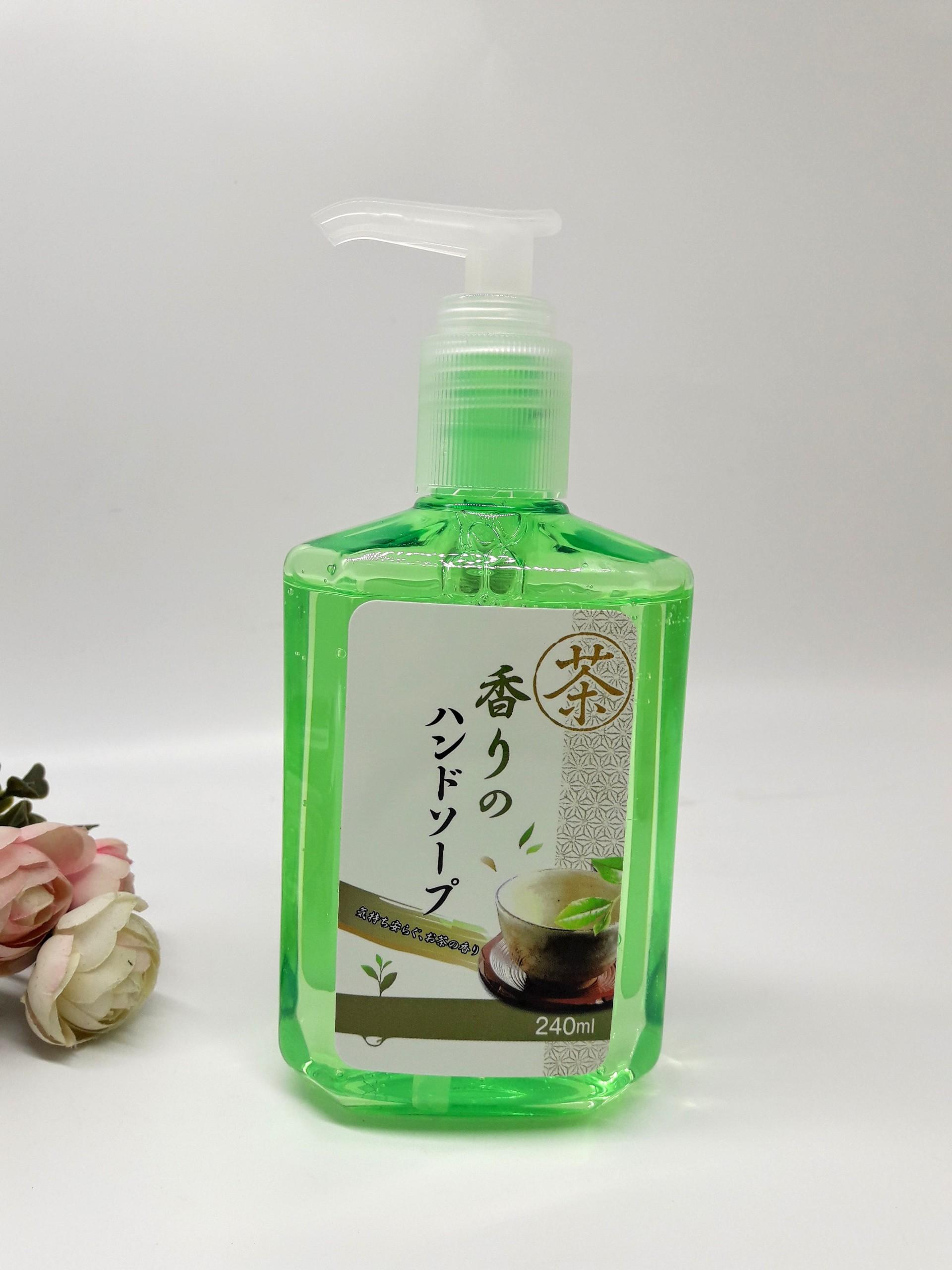 Sữa rửa tay diệt khuẩn hương trà xanh 240ml