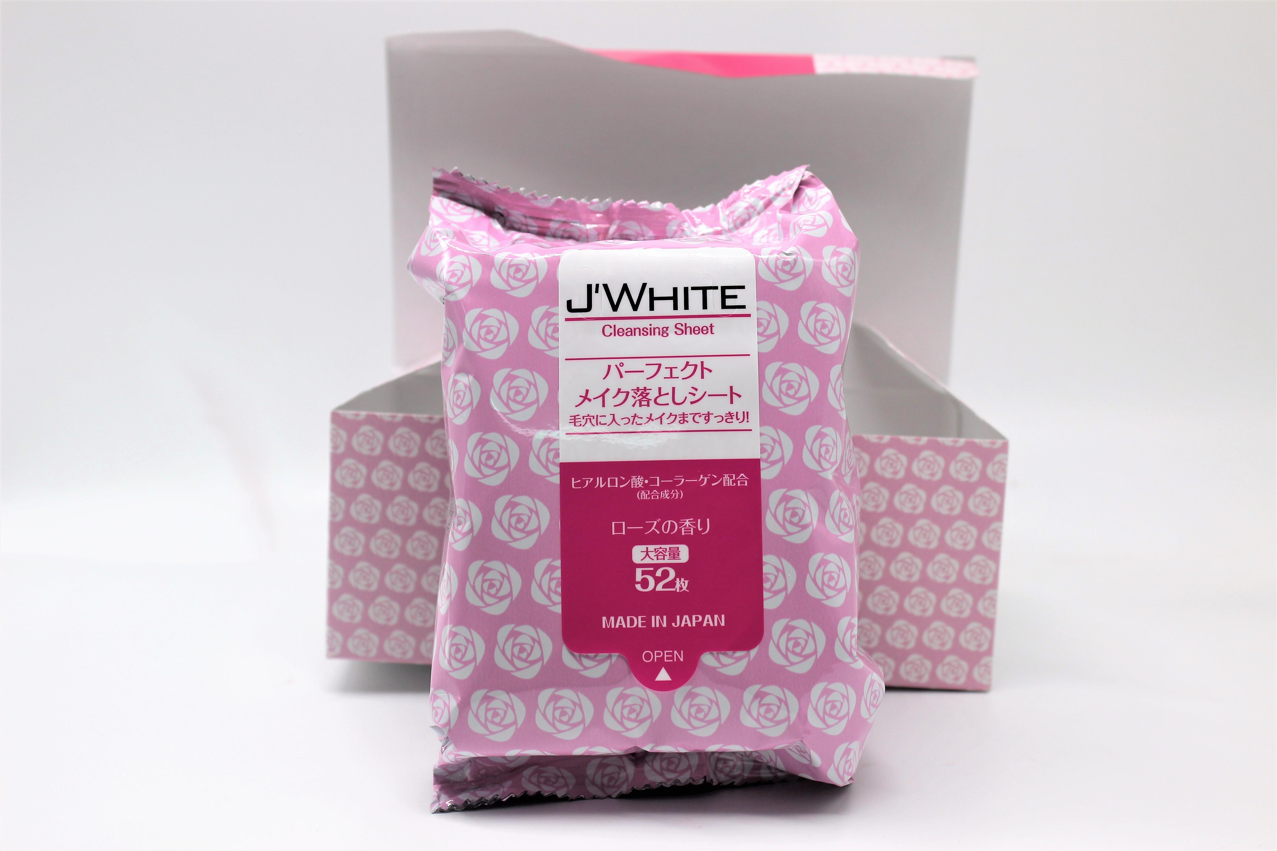 Khăn tẩy trang dưỡng ẩm Cao Cấp J'WHITE Make-Up