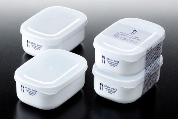 Set 2 hộp nhựa đựng thực phẩm White pack 280ml