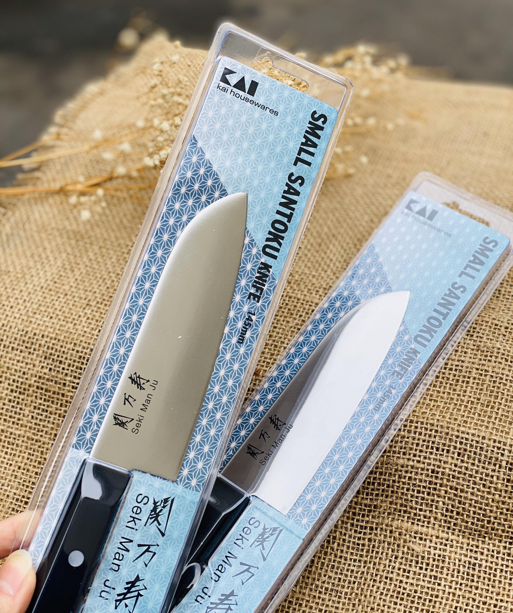 Dao bếp lưỡi nhọn Seki KAI 14.5cm