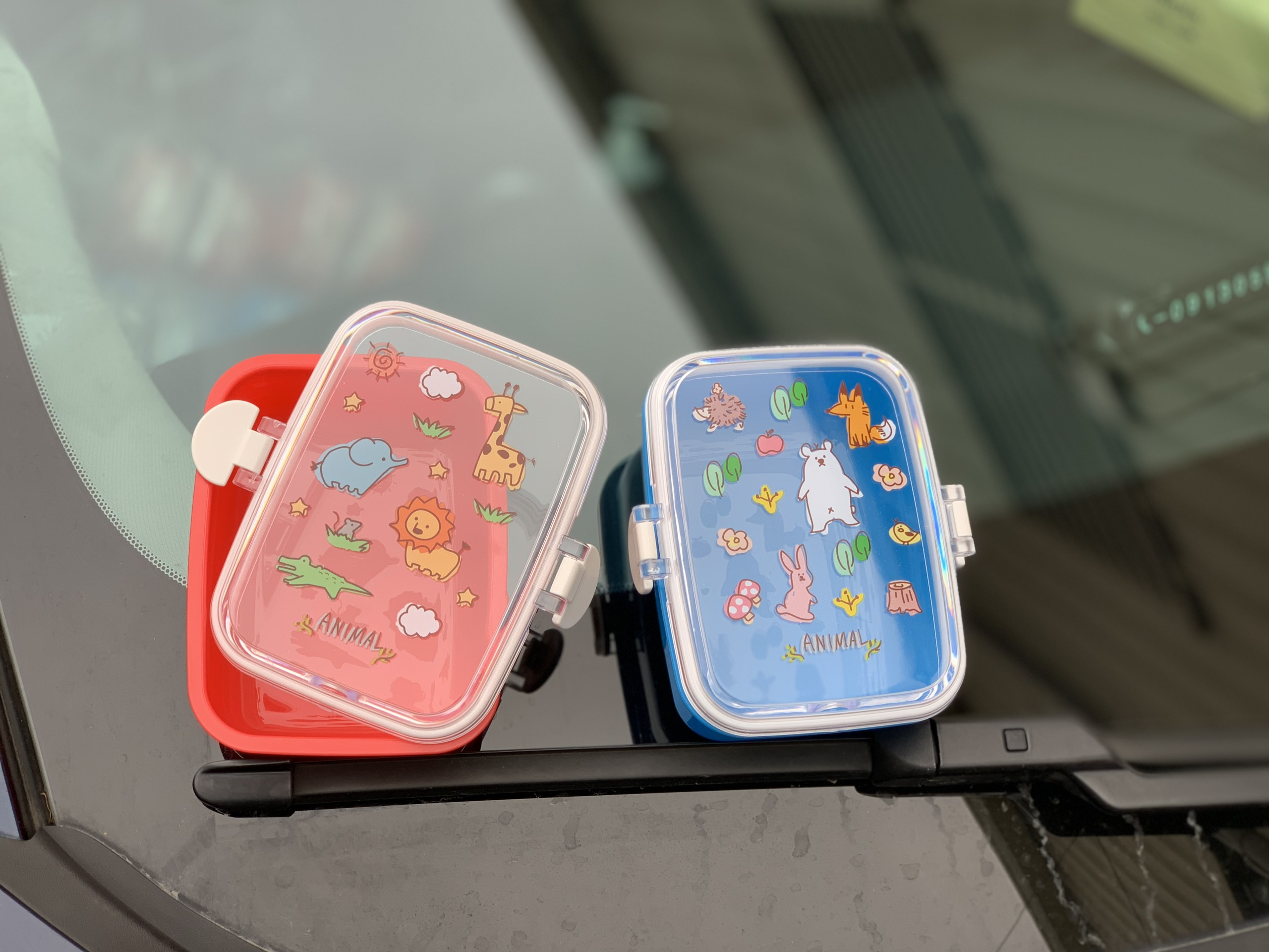 Hộp nhựa đựng thực phẩm cho bé nắp bật 315ml