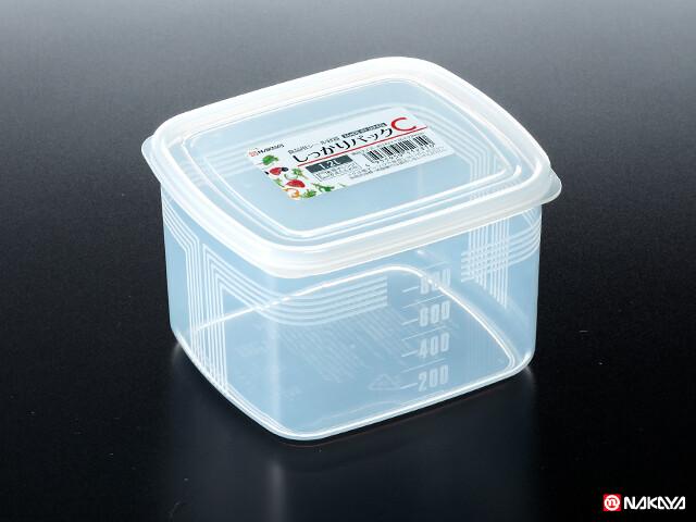 Hộp nhựa đựng thực phẩm nắp dẻo 1,2 L Nakaya