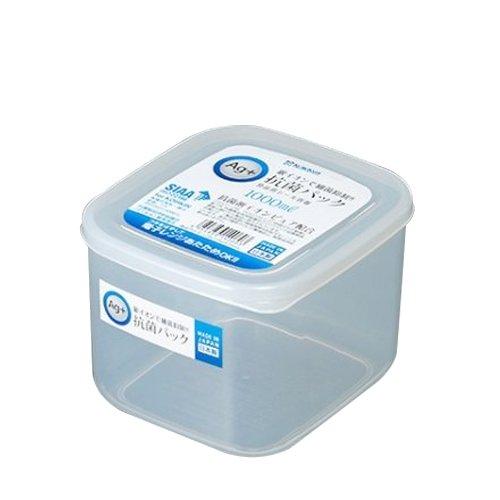 Hộp nhựa nắp dẻo, kháng khuẩn 1L Nakaya