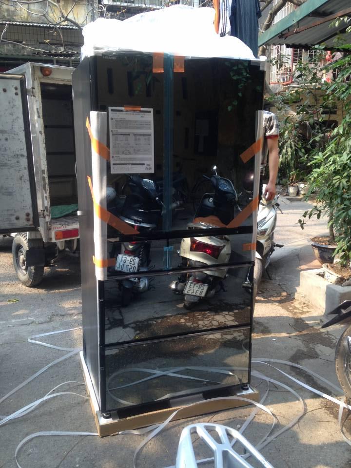 Tủ lạnh Hitachi 730L R-WX7400G-X model mới nhất
