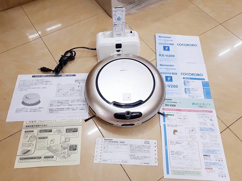 Robot hút bụi Sharp RX-V200-N