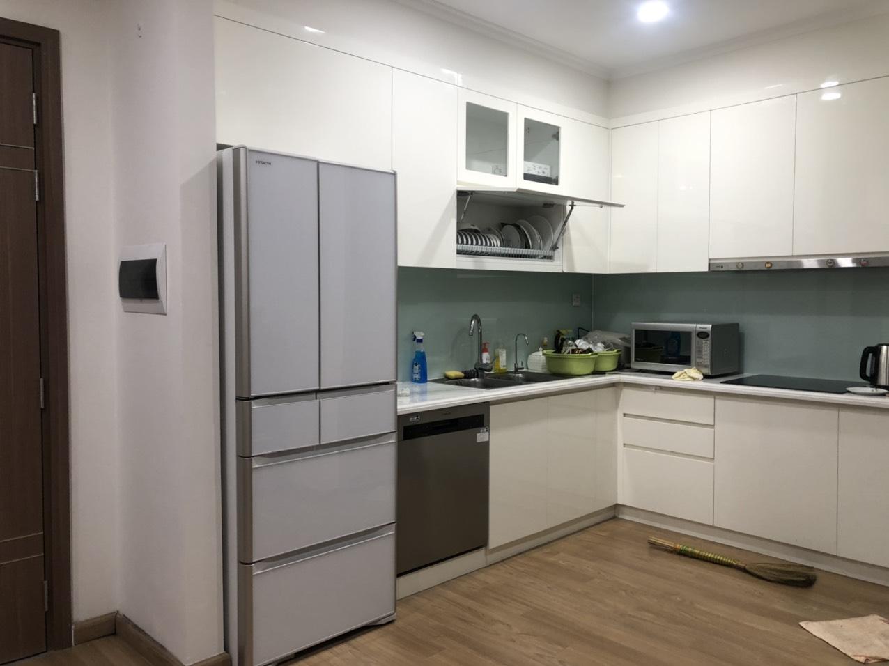 Tủ lạnh nội địa Hitachi R-XG56J (555L) Vàng Cát/ Trắng