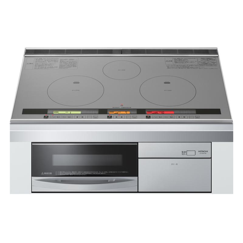 Bếp từ Hitachi HT-L9HTWF 3 từ 1 lò nướng
