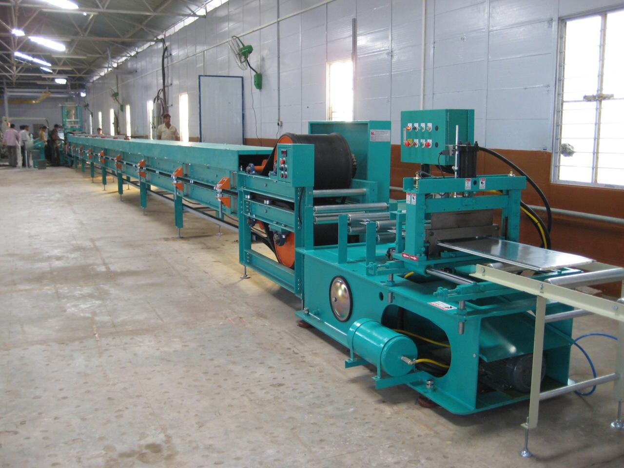 Dây chuyền sản xuất tấm Panel PU trần cách âm cách nhiệt (MSP: PS-CiPU360)