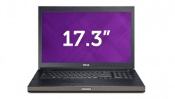 Dell Precision M6800 Core i7-4810MQ/20G/K3100M/256SSD/500HDD/Refurbished from USA