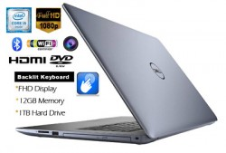 Dell Inspiron 5570-3064BLU-PUS Core i3-8130U/12G/1TB/FHD/TOUCH/W10H/BLUE